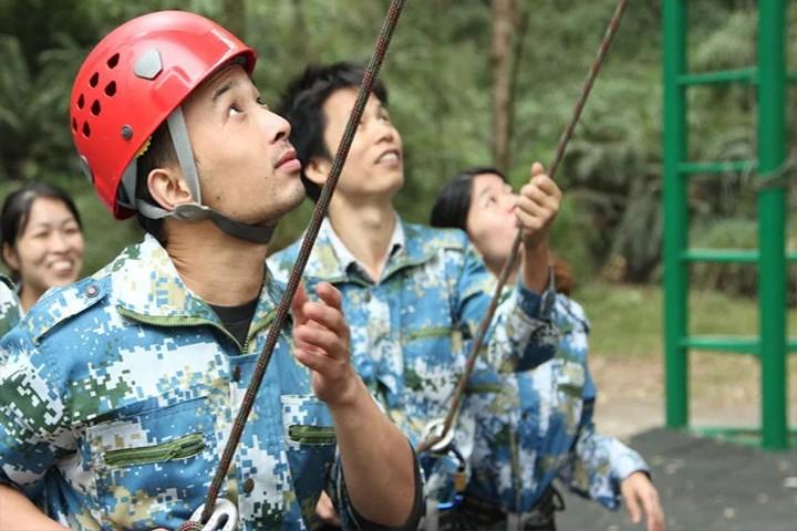 广州市捷润橡塑有限公司----户外拓展活动项目第二期