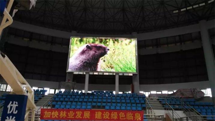 奥马哈成功打造曲江政务户外LED显示屏
