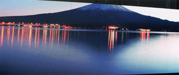 汕尾市海珍酒店P5户外全彩显示屏专用灰度异步全彩卡HD-D10(奥马哈)
