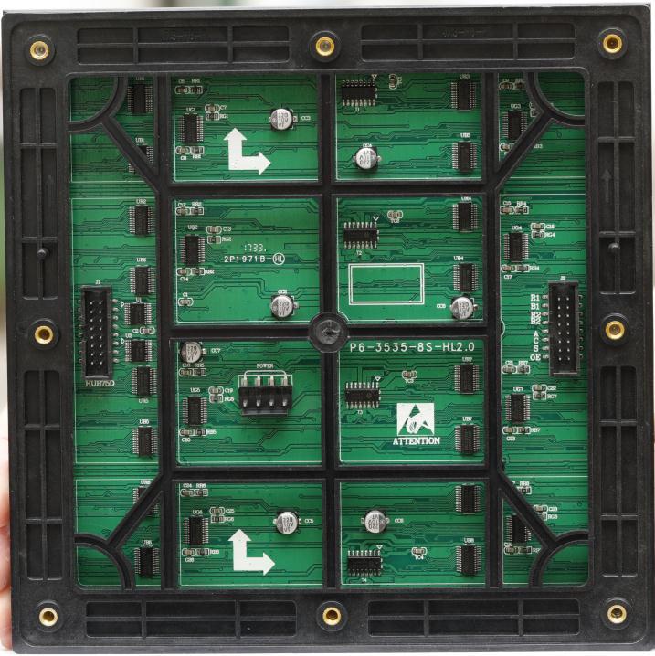 西安市北二环公路LED交通诱导屏专用P6户外表贴全彩箱体(奥马哈)