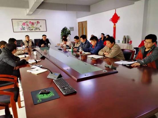 一夫科技2019年终述职会在滨江厂区召开