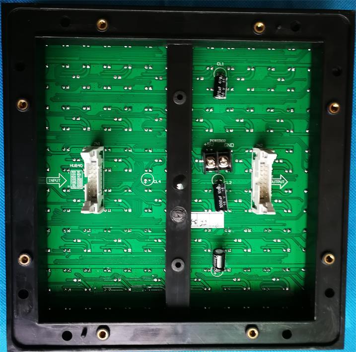 三门峡高速ETC通道标识显示屏专用P25户外双色模组奥马哈