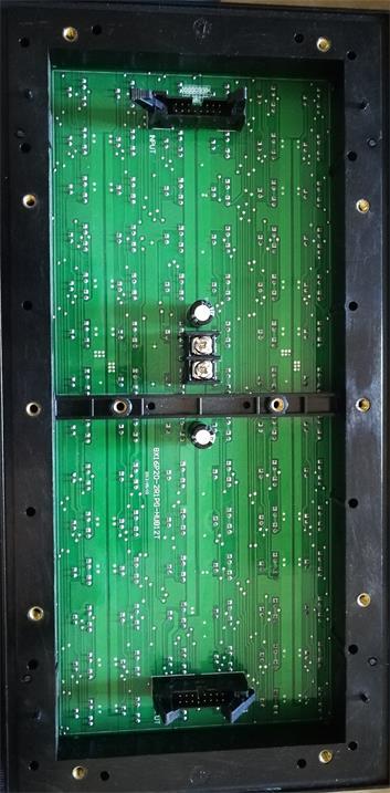川藏高速成都段LEDETC显示屏专用p20户外双色标箱{静态}奥马哈