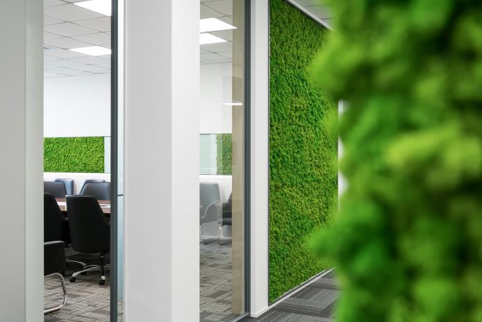 办公室设计施工案例分享——北京本农科技发展有限公司办公设计