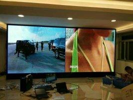 乐昌市友谊百货展厅LED室内全彩屏专用P5表贴单元板(奥马哈)