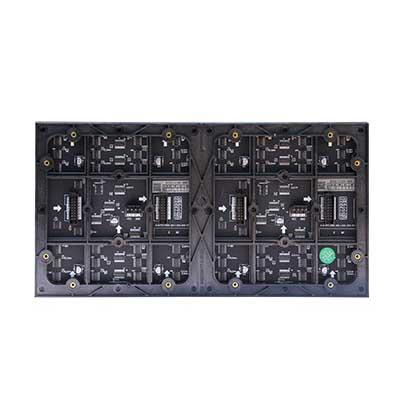 南昌市万科洪坊营销中心LED室内全彩屏专用P2.5表贴单元板(奥马哈)