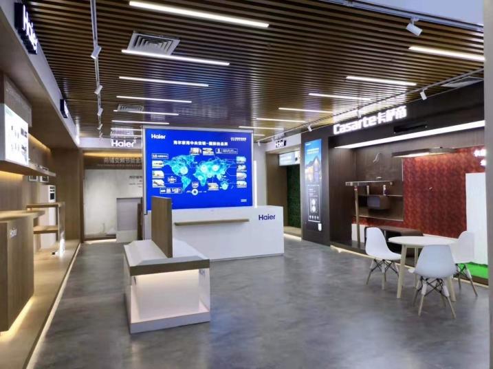 梅州市新中派出所办公厅LED全彩显示屏专用P3.076表贴单元板(奥马哈)