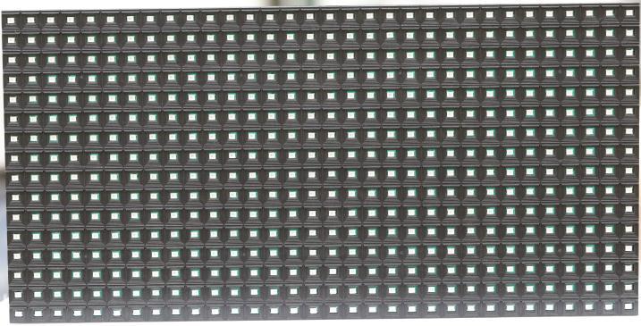江门台山市华海二手车LED半户外条屏专用P10单红表贴单元板(奥马哈)