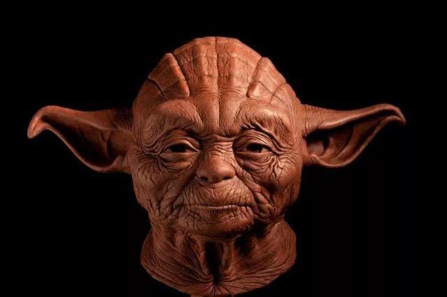 拥有人类皮肤的Yoda大师