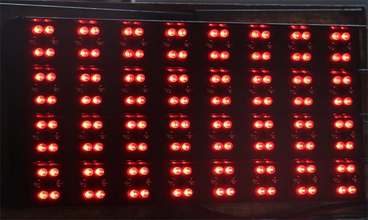 天津环城高速可变情报板专用P31.25户外双色标准箱体(奥马哈)