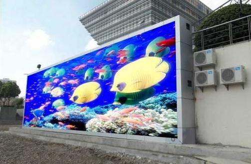 贵阳市郊区汽车站LED户外传媒屏专用P20户外插灯全彩(奥马哈)