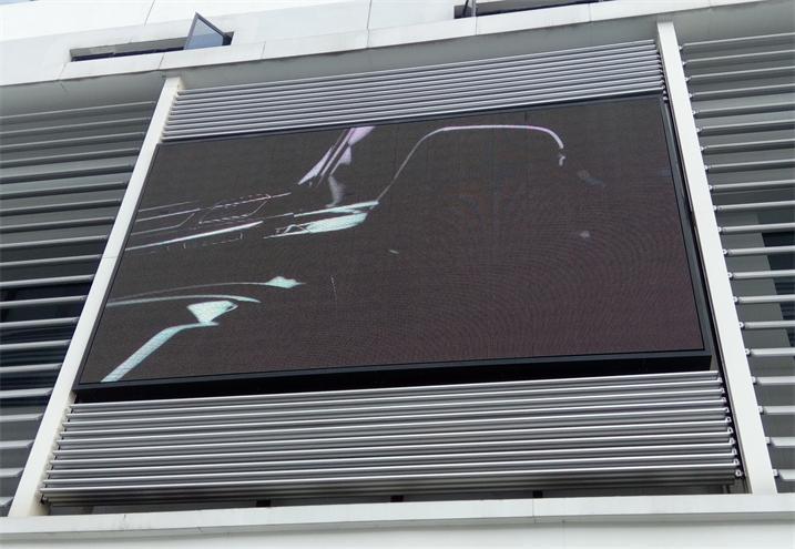 金华市石城山隧道LED交通诱导屏专用P10户外直插全彩(奥马哈)