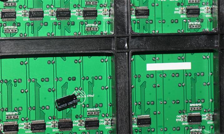 合肥市桐江饭店LED户外传媒屏专用P16户外反电极箱体(奥马哈)