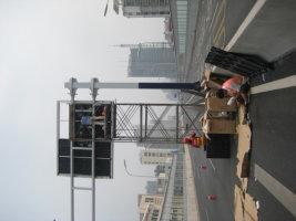德州市广川大道LED交通诱导屏专用P16户外双色标箱体(奥马哈)