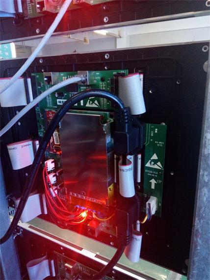 洛阳市保利大都会营销中心LED室内全彩屏专用P2.0全彩单元板(奥马哈)