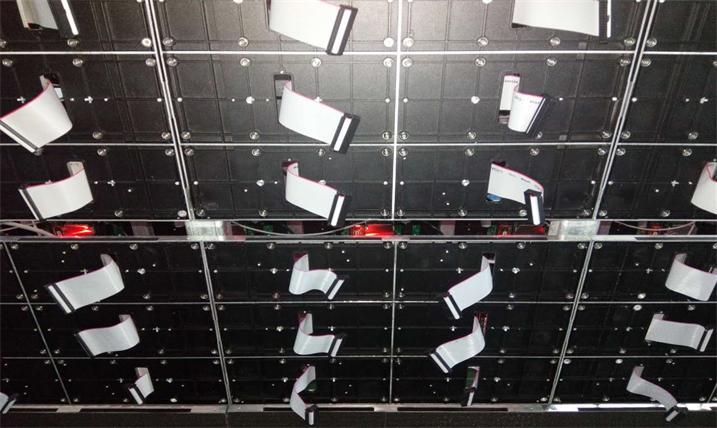 铜陵市铜陵学院会议室LED室内高清屏专用P1.923租赁箱体(利亚德)