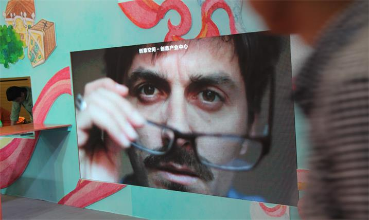 黄岗市工人文化宫展厅LED全彩显示屏专用P7.62表贴单元板(奥马哈)
