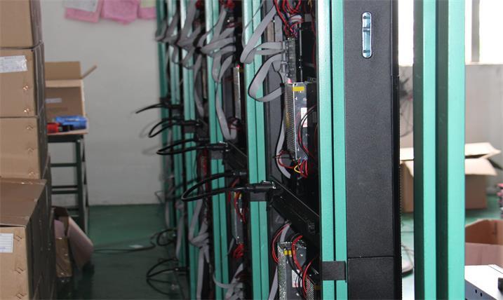 衡阳市英发实验学校会议室LED全彩显示屏专用P6室内单元板(奥马哈)