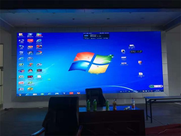 重庆万州区人民党校LED室内高清显示屏专用P3.91租赁箱体(奥马哈)
