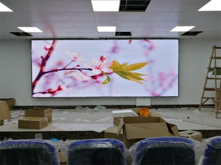 上饶市斯达大酒店会议室LED全彩屏专用P2.5表贴单元板(奥马哈)