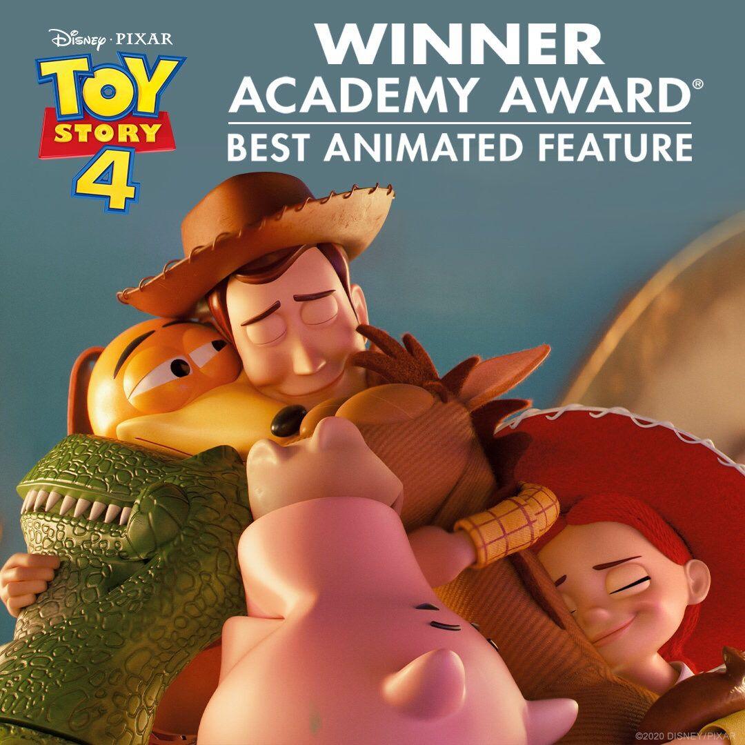 《玩具总动员4》成为皮克斯第10部获奥斯卡奖动画长片