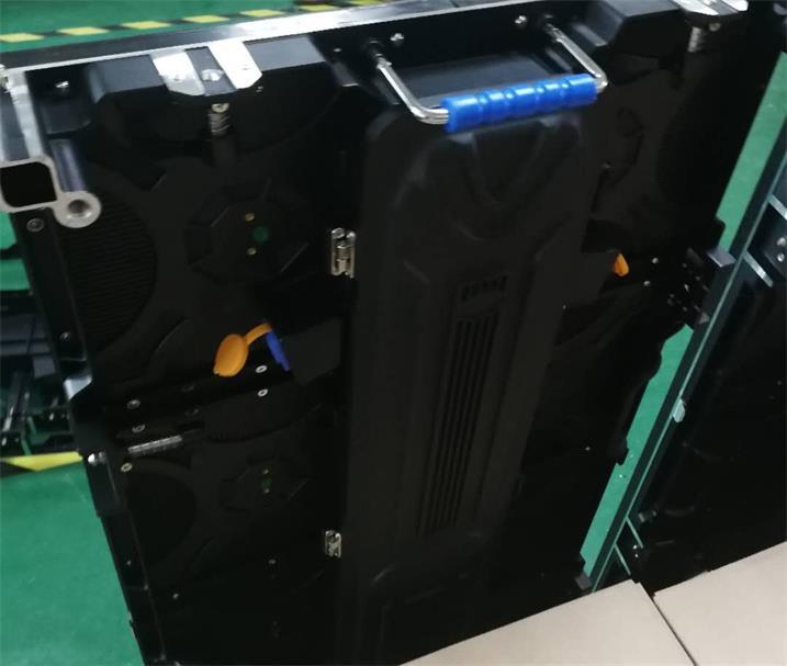 开封市万宝大众4S店LED户外舞美屏专用P4.81租赁箱体(奥马哈)
