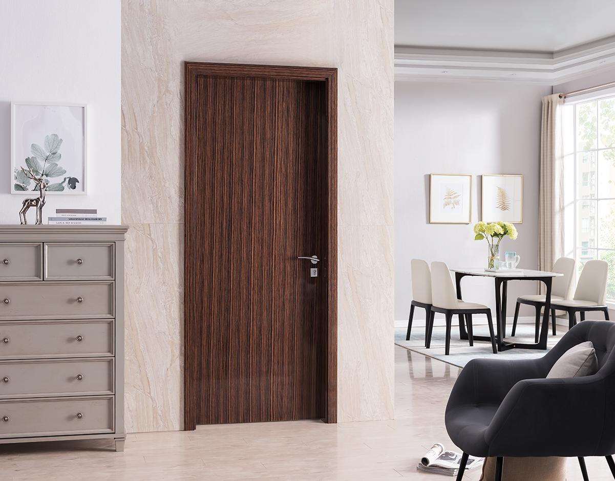 Reconstituted Veneer - Glossy Ebony Wood