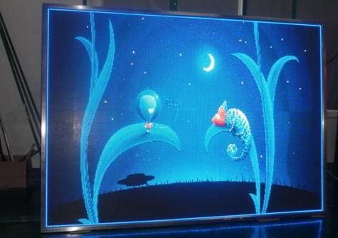 菲律宾马尼拉国际酒店LED室内舞美屏专用P4.81租赁箱体(奥马哈)
