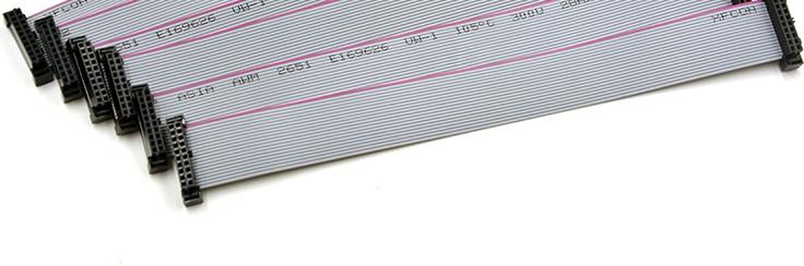 广州市LED户外显示屏控制卡专用60CM成品排线(奥马哈)