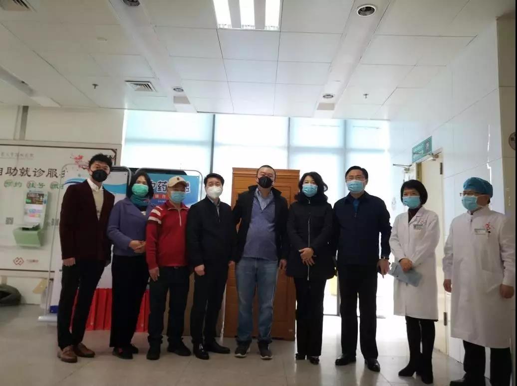 暖心!石墨烯联盟(CGIA)理事单位烯旺科技再向北京中医药大学深圳医院捐赠!