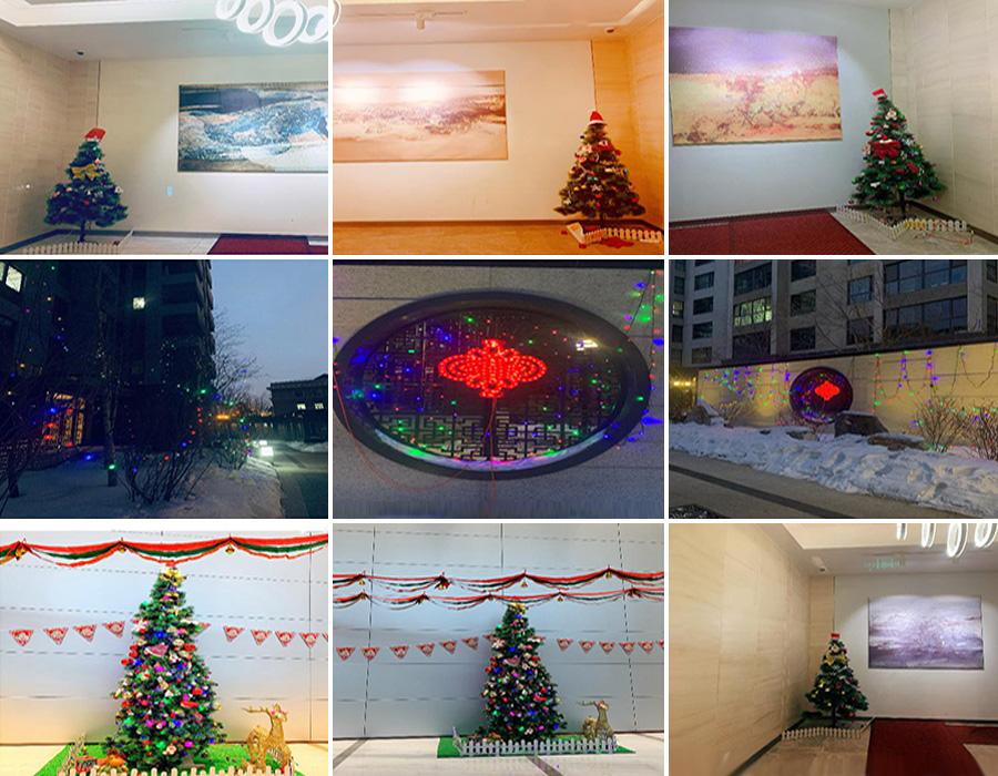 """""""圣诞节-圣诞树扎根在国金汇重要的位置"""""""
