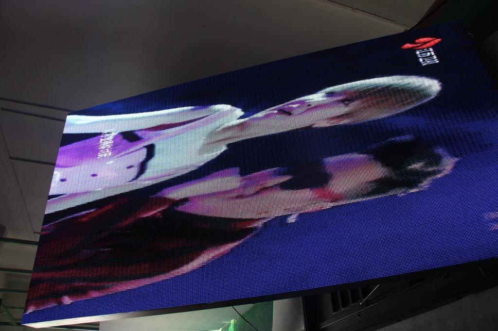 汕头市粤海酒店LED户外显示屏专用P6户外简易箱体(奥马哈)