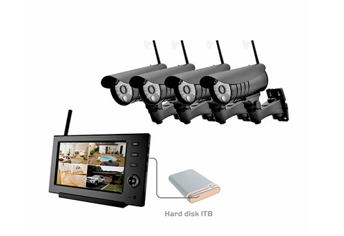8107JU Wireless Kit