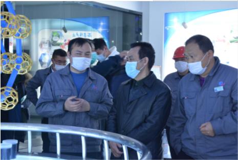 湖南省工信厅一级巡视员宁建业来厂调研碳基产业链