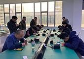 热烈祝贺南京贺普科技有限公司首届焊接技能竞技大赛圆满成功