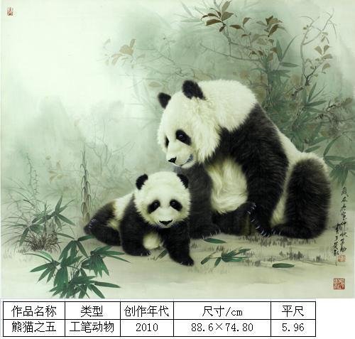 王申勇-熊猫之五