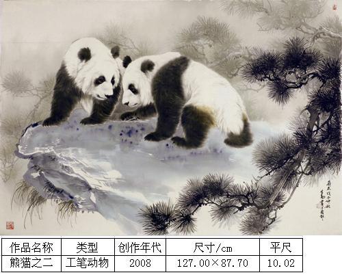 王申勇-熊猫之二