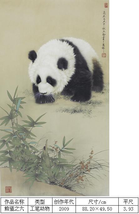 王申勇-熊猫之六