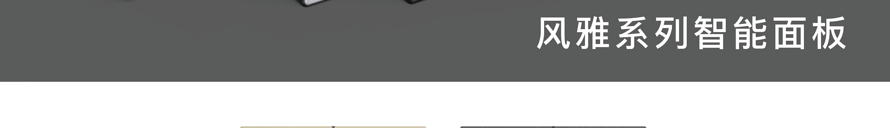 风雅系列电动窗帘控制器