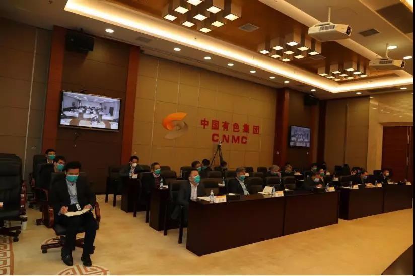 中国有色集团统筹调度湖北出资企业疫情防控和复工复产工作