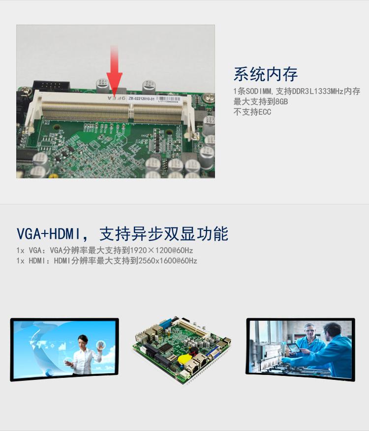 EP-2120 低功耗专用主板