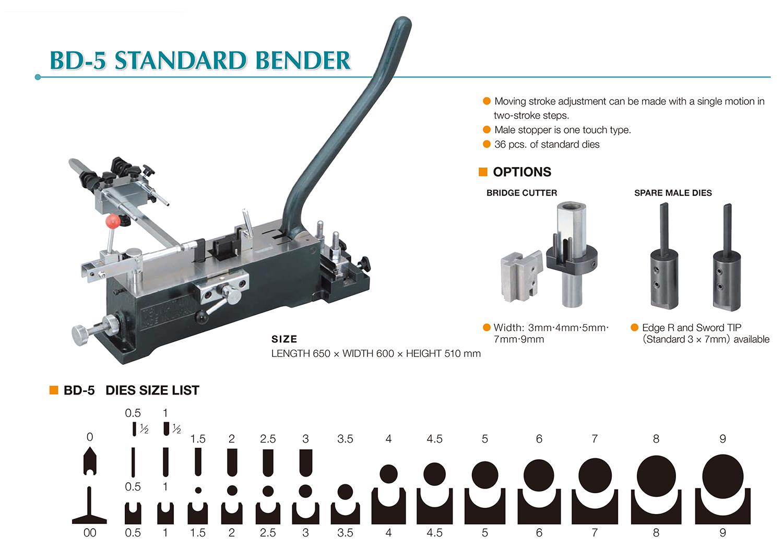 BD-5 STANDARD BENDER
