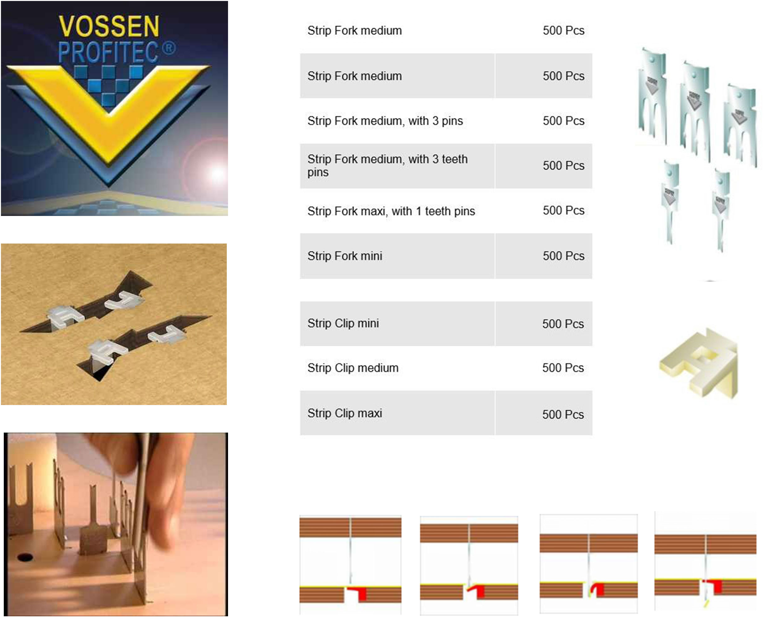 Vossen Watson Waste Cleaning Products in Germany