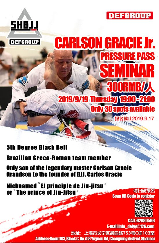 Carlson Gracie Jr. Seminar 2019