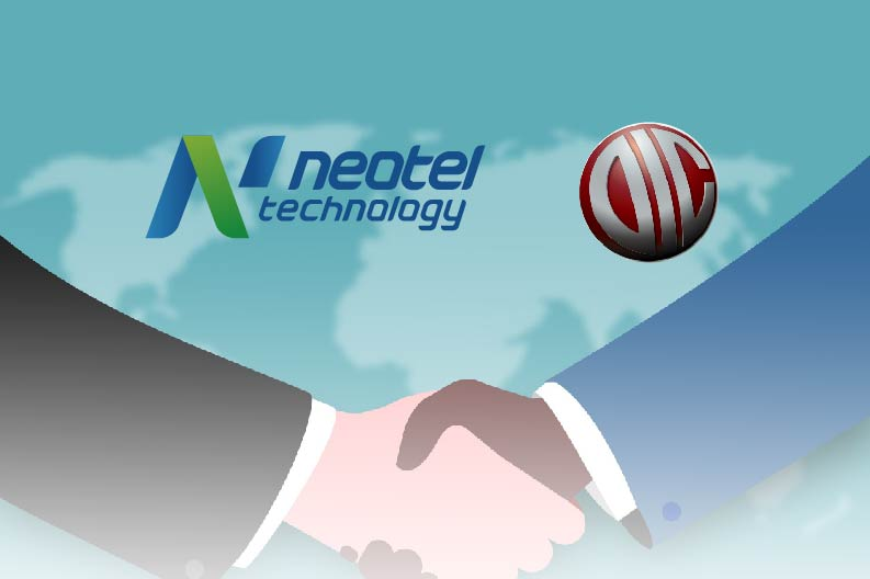 Neotel Technology Signed the partnership agreement with DIC