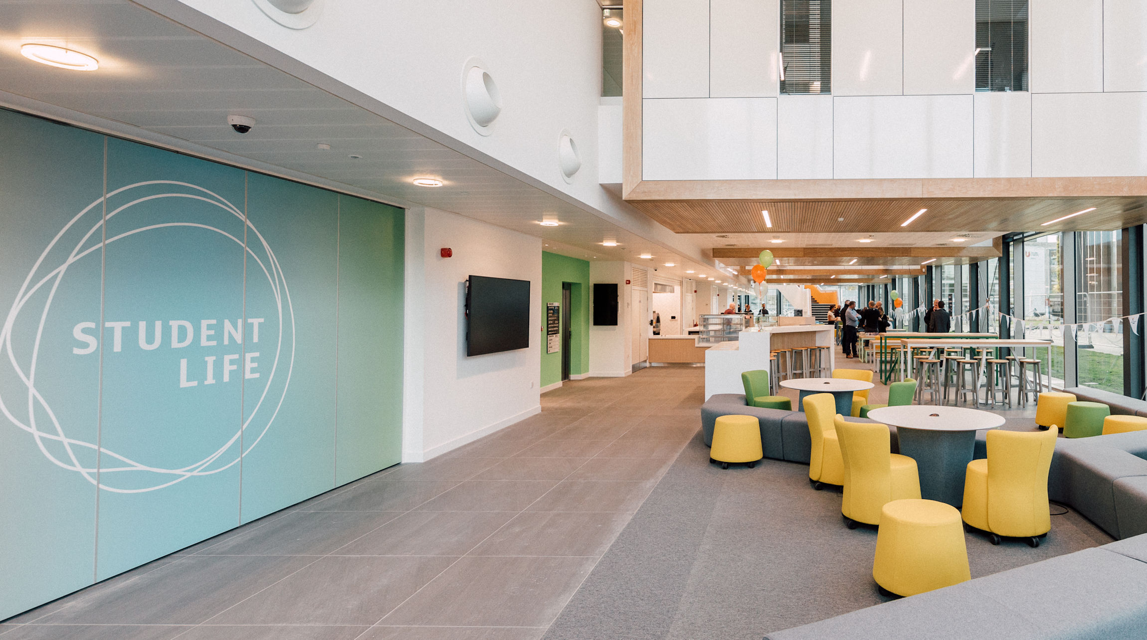 提赛德大学新学生生活大楼正式投入使用