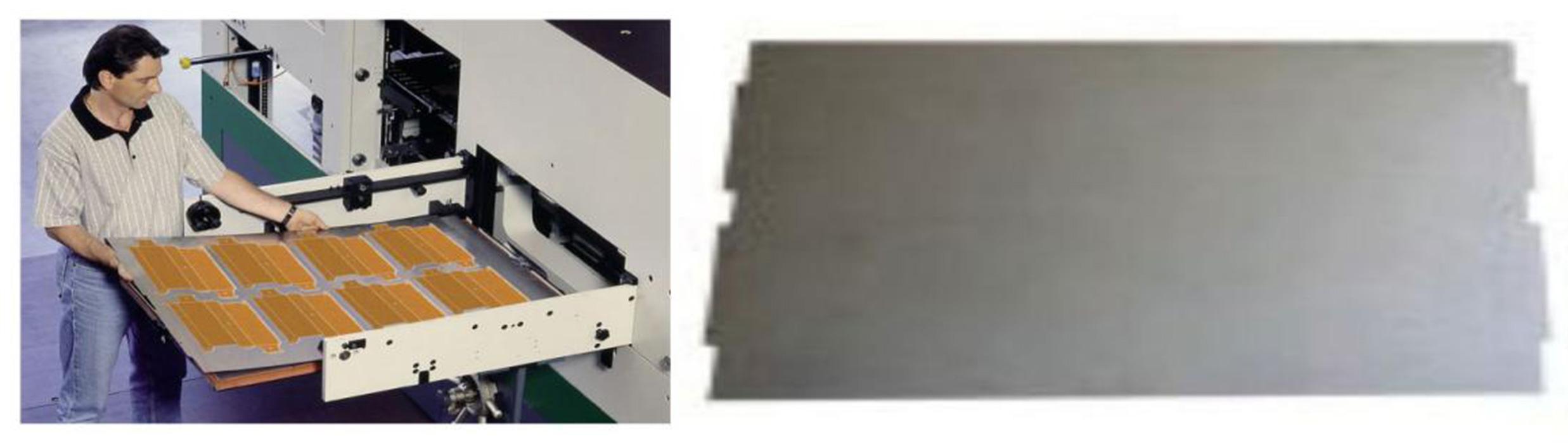 Die cutting steel plate