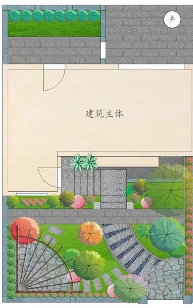 别墅花园施工