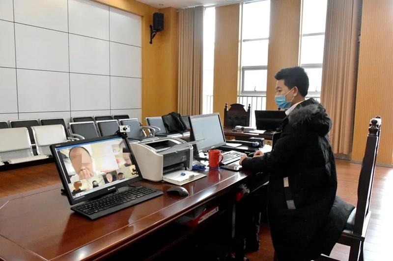"""让类案走上""""互联网的流水线"""" 淄博高新区欧宝体育登陆首页对38案47人进行集中线上调解"""