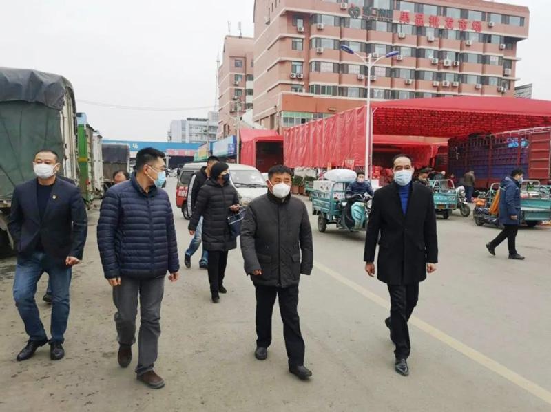 区委常委、统战部部长尹少华莅临堤口集团走访调研
